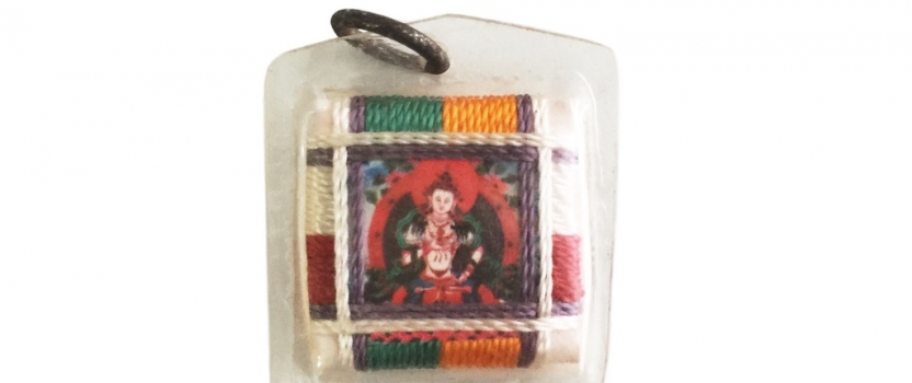 Vajrasattva Bodhisattva Sungkhor Locket for Ritual Purification and Cleansing of Negative Karma